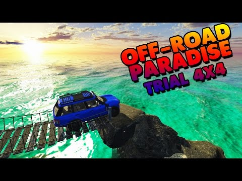 Off-Road Paradise: Trial 4x4 - CLIMBING ROCKS! - Off-Road Paradise Gameplay & Highlights Part 1