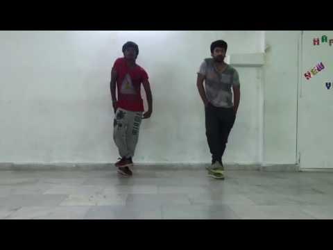 Dhee Jodi!!shekar master dance practise with his son