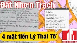 Bán đất Nhơn Trạch - Đất Nhơn Trạch mặt tiền Lý Thái Tổ - xã Đại Phước