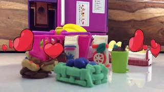 DollsToys PlayDoh YouTube Video for Toddlers Mini#DollsFood for Kids
