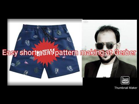 Download Easy Short Pant Pattern Making At Gerber