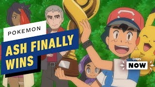 Ash Ketchum Becomes a Pokemon League Champion - IGN Now
