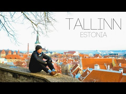 WE WOKE UP IN ESTONIA!? - First Time in Tallinn
