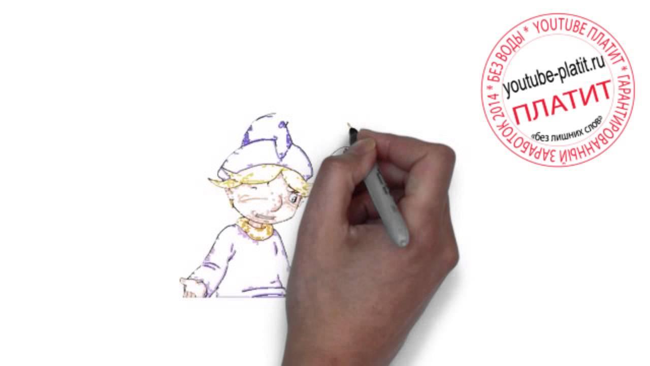 Смотреть три богатыря  Как быстро карандашом нарисовать героев мультфильма три богатыря