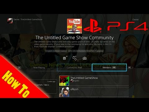 How To Make A PS4 Community 3.0 Kenshin PS4 Menu Interface Tips & Trick  PS4 Software