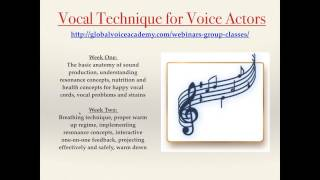 Video Vocal Health for Voice Actors Lecture with Cristina Milizia download MP3, 3GP, MP4, WEBM, AVI, FLV Desember 2017