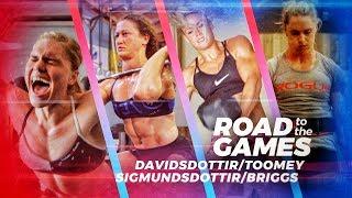 Road to the Games 17.07: Davidsdottir/Toomey/Sigmundsdottir/Briggs