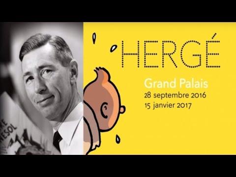Hergé, dessinateur de Tintin et amateur de peinture