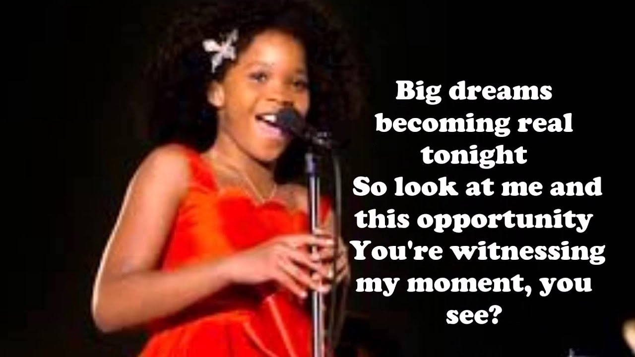 Annie 2014 - Opportunity (Sia) - By Kevin - YouTube