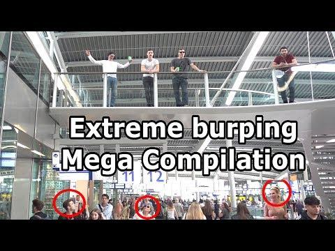 Extreme Burping Pranks in Public Mega Compilation / Best Reactions