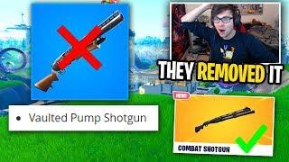 RIP pump shotgun... (my reaction to season 9)