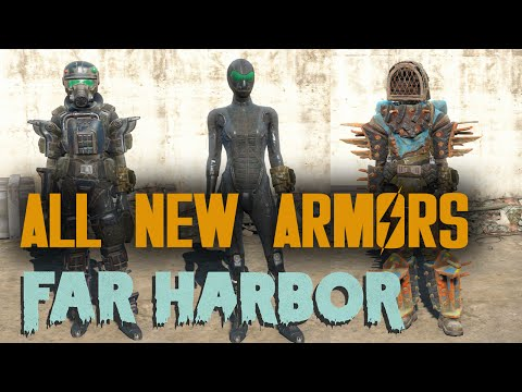 Fallout 4 - Far Harbor - All New Armors |