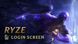 Ryze, the Rune Mage | League of Legends - Login Screen