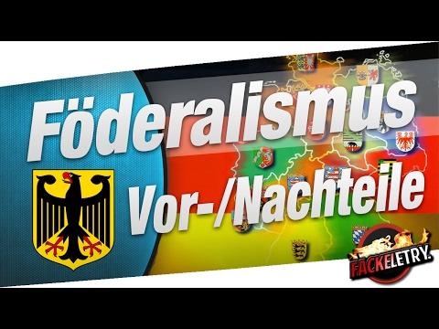 Föderalismus: Vorteile & Nachteile - Erklärung [Politik/Gemeinschaftskunde]