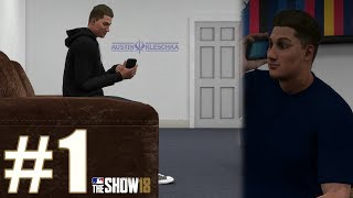 GETTING DRAFTED TWICE! | MLB The Show 18 | Road to the Show #1