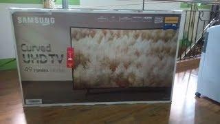 Samsung Curved UHD TV 49inc 7 SERIES NU7300