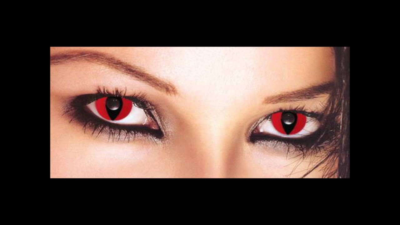 Halloween Contact Lenses, Wild, Scary, Cat Eyes, Blackout Effects ...