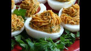 Закуска из яиц -  простая и вкусная!!! Что приготовить быстро и вкусно!