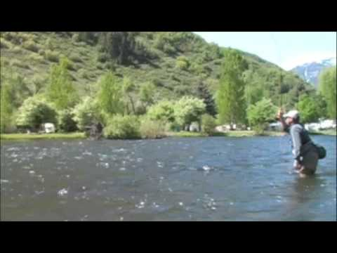 Provo river fly fishing youtube for Provo river fishing report