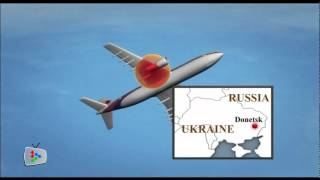 MH17: Detailed animation of how plane went down
