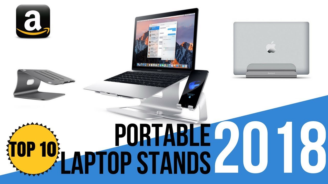 Portable Laptop Notebook Cooling Stand Fully Adjustable Laptop & Desktop Accessories