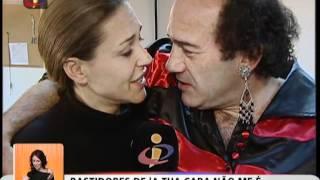 Você na TV: Merche Romero nos bastidores do «A Tua Cara Não Me é Estranha»