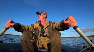 Білорусь.Риболовля на Озері Біле-Котлярово. Окунь.