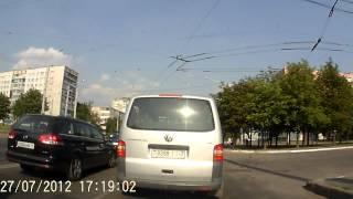 Свиньи на дорогах Минска