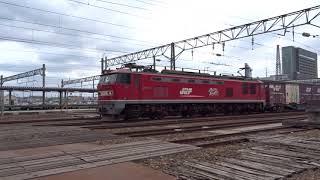 2019.03.26 貨物列車(4061列車)秋田駅発車