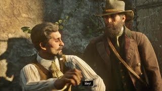 Red Dead Redemption 2 - John Save Charles Chatenay (The Artist's Way Stranger Mission)