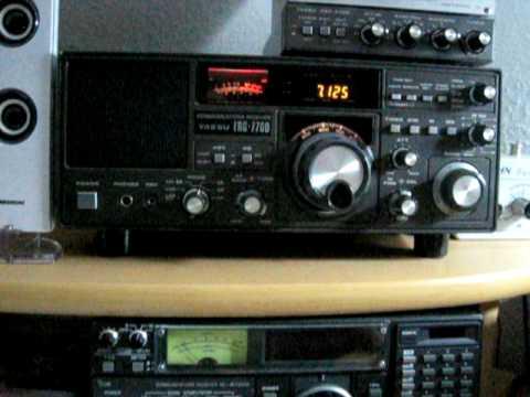 Radio Conakry Guinea 7125 khz shortwave