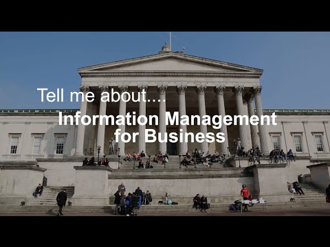 Tell me about Information Management for Business