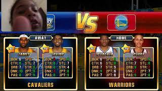 NBA JAM FINALS(game 1)