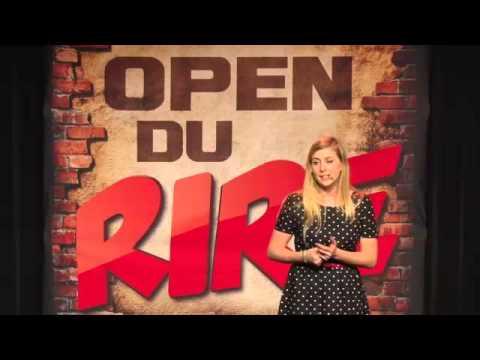Laura Laune aux Open du rire   la prof