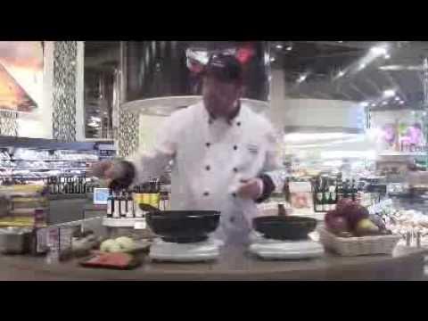 pavé-de-saumon-cuisson-unilatérale-&-pommes-confites-au-sirop-d'érable