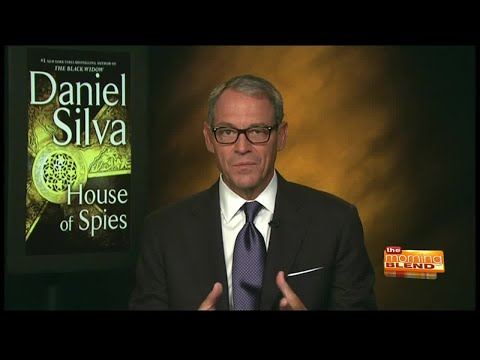 """Author Daniel Silva's new book """"House of Spies"""""""