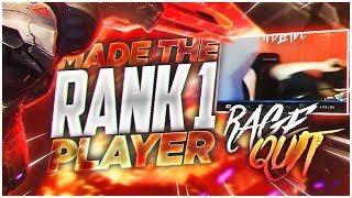 Download Video LL STYLISH   WE MADE THE RANK#1 PLAYER RAGEQUIT!!! MP3 3GP MP4
