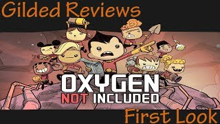 Oxygen Not Included Review - Early Access First Look (Outbreak Update) (Video Game Video Review)
