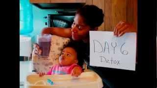 Djehutys Full Body Detox Day 6 | Blueberry Banana Almond Butter Smoothie