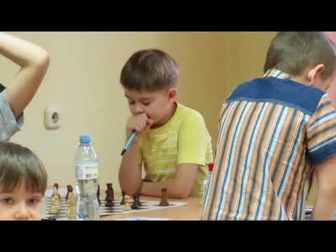 2018-01-28 Misha Osipov 4 Year Chess Player