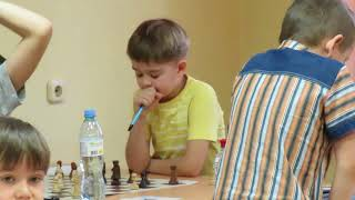 2018-01-28 Misha Osipov 4 Year chess player