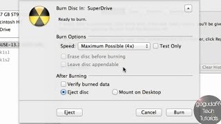 How to Burn an ISO Image on a Mac