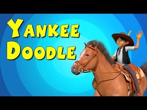 Yankee Doodle || 3D Animation || Nursery Rhyme Song