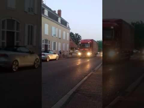 Klaxon de camion du tour de France