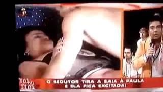 Teste de Fidelidade de Portugal   Sedutor tira a saia da mulher testada e ela diz que é insaciavel