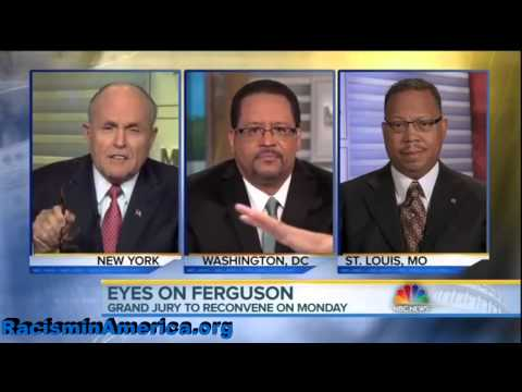 Giuliani vs. Michael Eric Dyson about White Police Officers