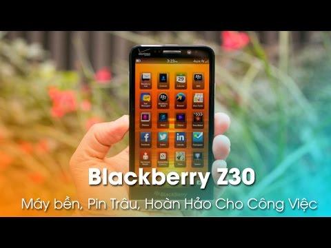 Blackberry Z30 chỉ 4tr69 - Máy Khỏe, Pin Trâu, Hoàn Hảo cho công việc