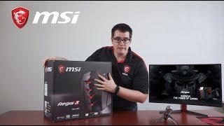Unboxing of MSI Aegis 3 | Gaming Desktop | MSI
