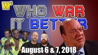 Paul Heyman's Emotional Interview! Insane Tag Team Main Event! | Who War It Better