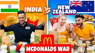 INDIA vs NZ McDonald's WAR !! FT.@Kishanell